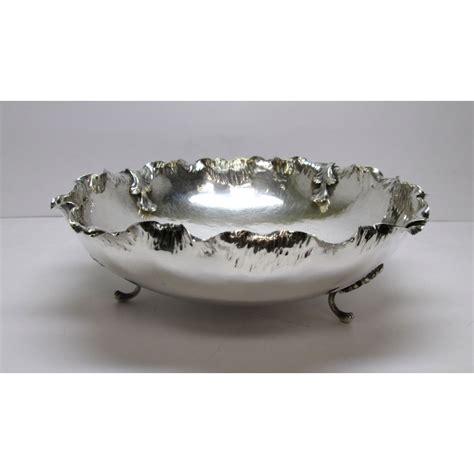 tavoli d epoca centrotavola in argento d epoca di forma tonda lavorato
