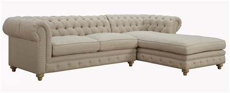 chesterfield sofa sectional chesterfield sectional sofa bargains on homelegance