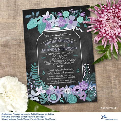 jar bridal shower invitations templates 26 wedding shower invitation templates free sle