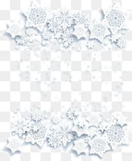 snowflake border png, vectors, psd, and clipart for free