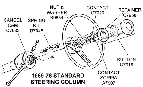 Sport Center Bearing Assy Mitsubishi Ps135 diagram cj5 steering column diagram