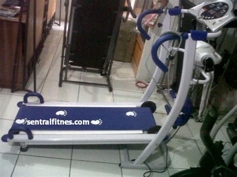 Treadmill Manual 6 Fungsi Biru Tl004 Murah Bisa Cod alat olahraga menurunkan berat badan efektif dan praktis