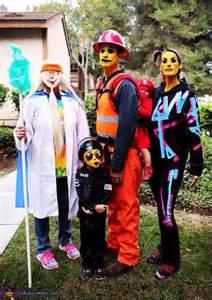 original lego  family costume