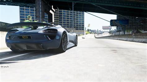 Porsche Z Antrag by Gta 5 2010 Porsche 918 Concept Oiv Hq Real Speed Mod