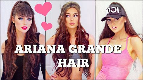 whats wrong with ariana grande hair 3 ariana grande half up hairstyles with extensions