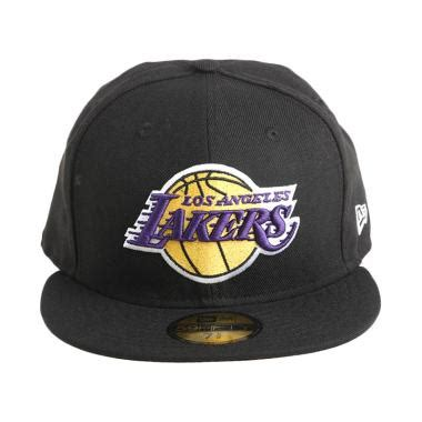 Topi Los Angeles Lakers New 1 jual new era nba los angeles lakers 59fifty hitam topi basket 70068767 harga