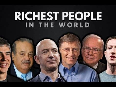 list of the top 10 richest in the world 2018
