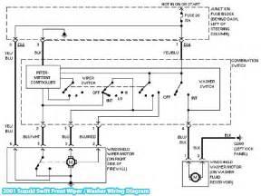 2001 suzuki swift front wiper washer wiring diagram