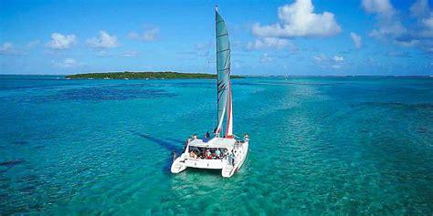 catamaran excursion in mauritius croisi 232 re en catamaran sur l ile aux cerfs sud est