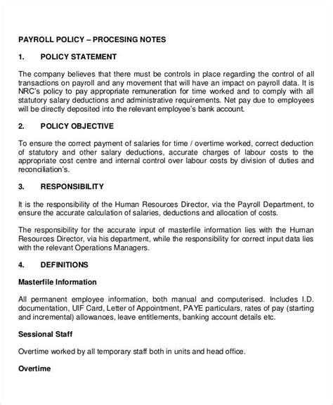 company and regulations template free company policy template