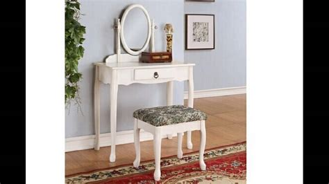 3 pc white finish wood make up bedroom from amb furniture and 3 pc white finish wood make up bedroom vanity set with