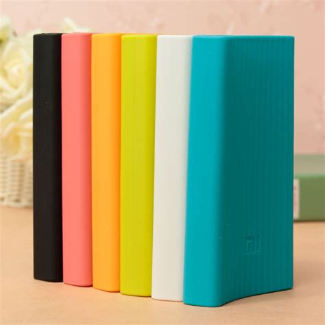Promo Murah Silicon Cover For Xiaomi Power Bank 10000mah 100 Origina xiaomi 20000mah power dual usb output fast charge pack silicone sale banggood