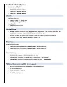 landing the perfect place using a rental resume pearlman
