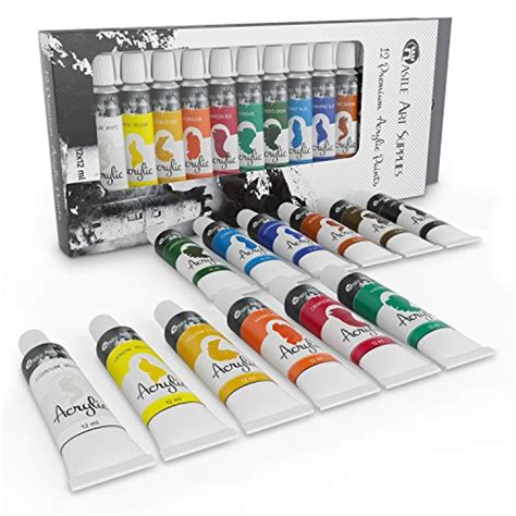 acrylic paint set for beginners students or artists a mix of quality and versatility