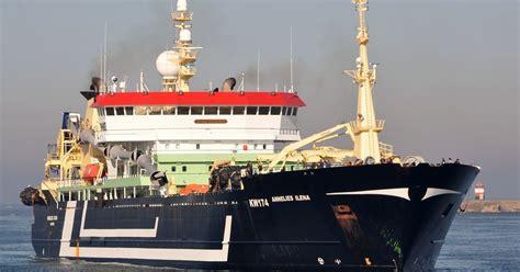 fishing boat load crossword demand to ban super trawlers in irish waters as big boats