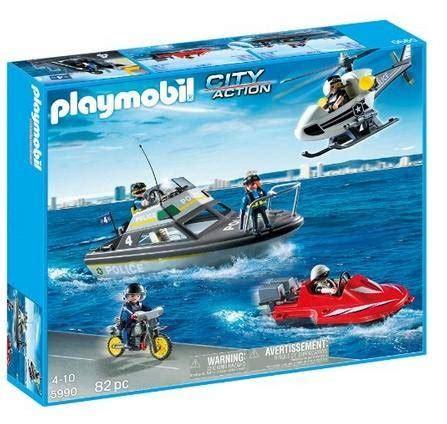 playmobil secret agent boat playmobil tactical unit set 37 22 shipped