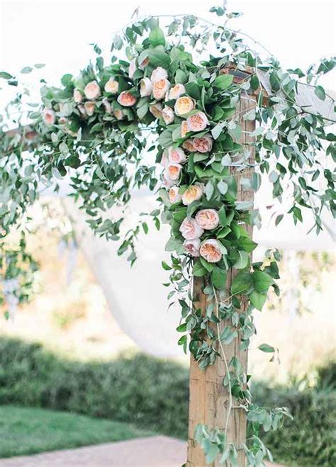 Wedding Arch With Flowers by Top 12 Wedding Ceremony Arches With Flowers The Bohemian