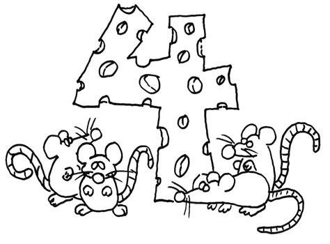 dibujos para colorear pdf dibujo colorear 4 dibujo de letras y numeros para imprimir