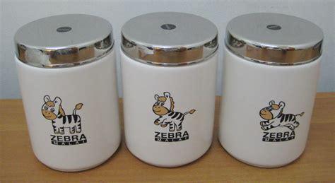 Jual Tempat Bumbu Dapur Lucu keramik zebra storage jar serbaguna
