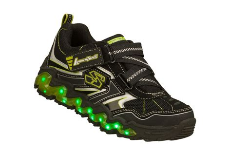 Skechers Luminators by Skechers Boy S Luminators Wave Athletic Shoe Black