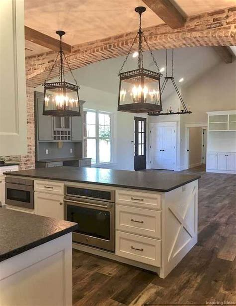 new kitchen lighting farmhouse style the turquoise home farmhouse kitchen ideas for fixer style industrial flare