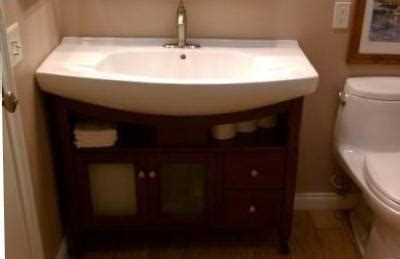 all in one kitchen sink and cabinet bathroom remodel cabinet and sink all in 1 handyman