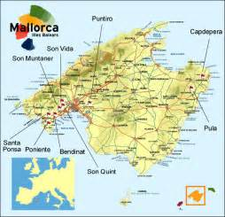Mallorca World Map by Golf In Majorca