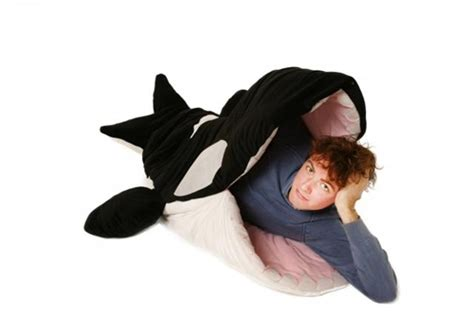 killer whale plush snore ca killer whale sleeping bag and