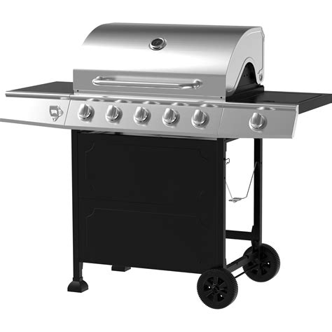 wonderful patio gas grill 5 burner gas grill stainless