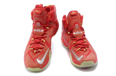 lebron basketball shoes sale cheap nike lebron 12 silver volt basketball shoes sale