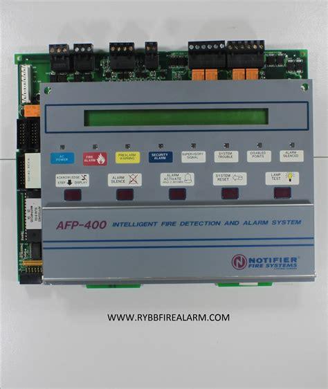 Panel Alarm Omni 400 notifier afp 400 alarm panel rybb alarm parts service repairs