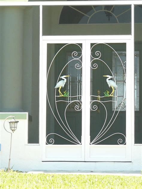 Handmade Screen Doors - screen doors to make your home green and ecofriend