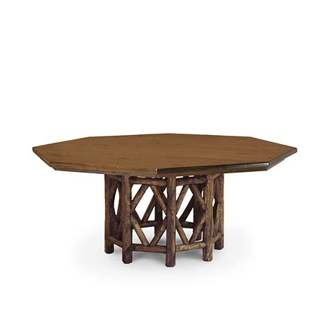 rustic octagonal dining table 3116 or base only 3118