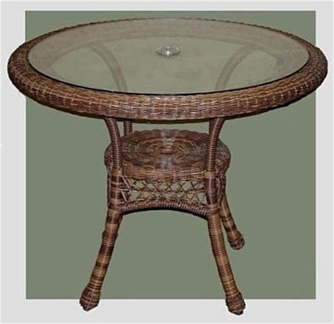 wicker patio table wicker org all weather wicker dining table bistro chair