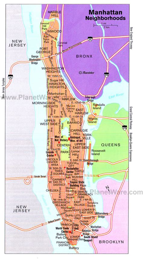 manhattan sections map manhattan neighborhoods map jpg 700 215 1281 nyc pinterest