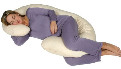 Snoogle Pillow Reviews by Snoogle Chic Jersey Total Pregnancy Pillow Review
