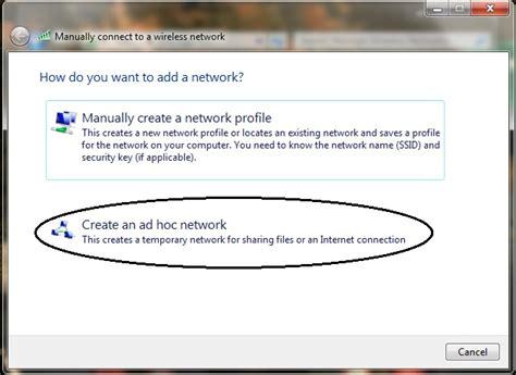 step by step membuat jaringan lan cara membuat jaringan ad hoc pada windows7 tutorial tips