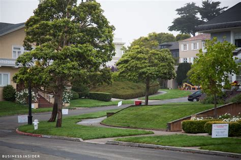 Sold Property Records Take A Tour Of Presidio Terrace The Most Exclusive Block In San Francisco Business