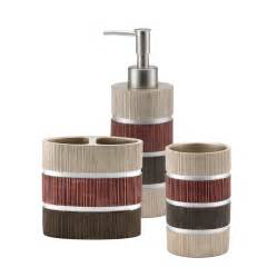 Kohls Bathroom Accessories Bathroom Accessory Set Kohl S