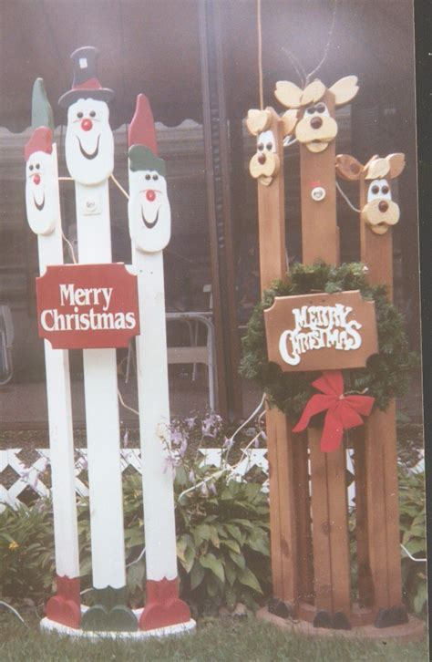 Wooden Christmas Decoration Plans