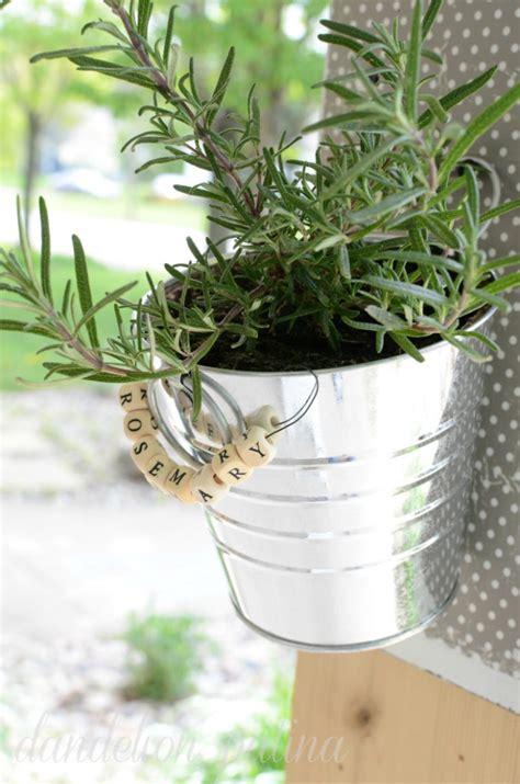 diy hanging herb garden diy hanging herb garden dandelion patina