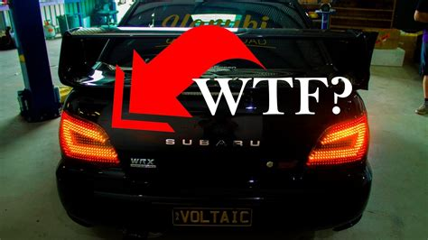 custom made tail lights custom tail lights illegal youtube