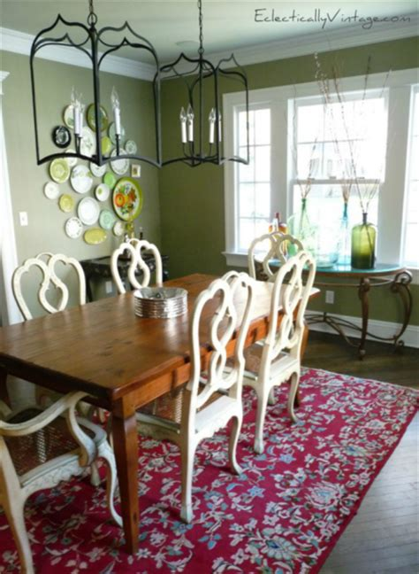 eclectic dining room makeover  eclectically vintage blog