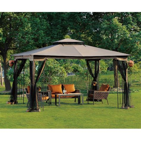 Small Gazebo With Netting by Unique Patio Gazebos And Canopies 1 Patio Canopy Gazebo