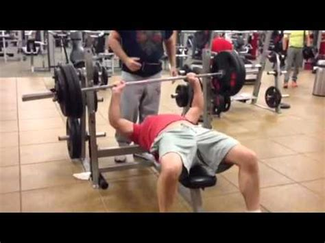 300 pound bench press lou 300 pound bench press 1 4 2015 youtube