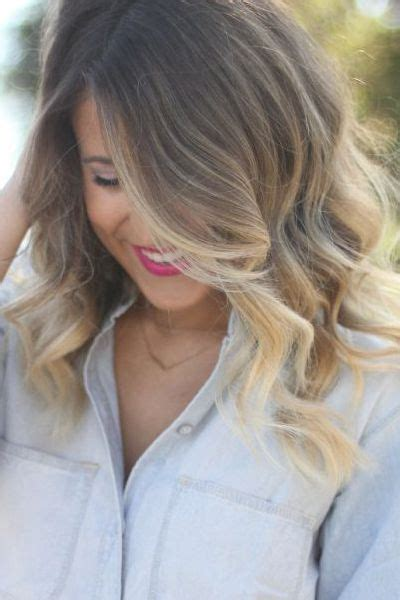 medium haircuts blonde ombre 50 haircuts to copy right now hair medium lengths