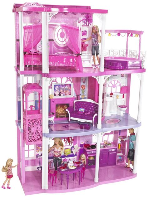 images of barbie doll houses bontoys barbie house