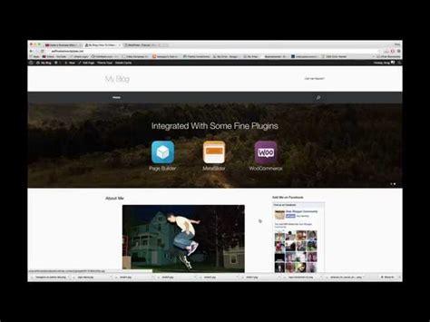wordpress tutorial vantage customize vantage wordpress theme