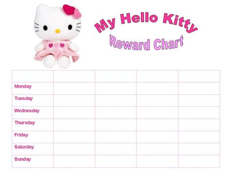 free printable chore chart template download for boy and girl