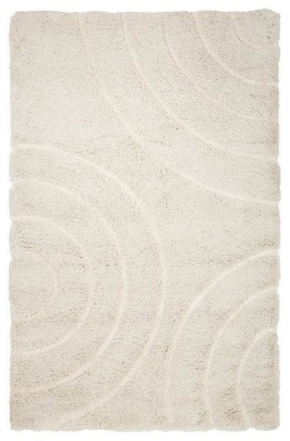 Sculptured Area Rugs Shag Sculptured Circles Area Rug 5 X3 25 Quot Area Rugs By Shopladder